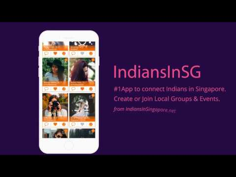 IndiansInSG App - Live Chat Events Free Classifieds For Indians In Singapore