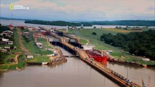 видео Панамский канал. Длина и ширина Панамского канала