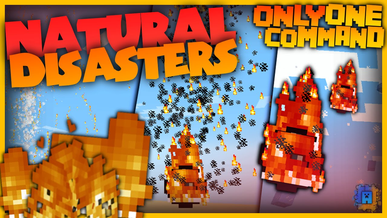 Minecraft Command: Natural Disasters (1 8 1) | IJAMinecraft