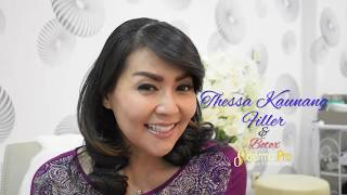 Thessa Kaunang botox filler di DERMAPRO