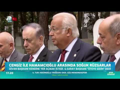 Mustafa Cengiz İle Eşref Hamamcıoğlu Arasında Büyük Gerilim! / A Spor / Spor Gündemi / 11.10.2019