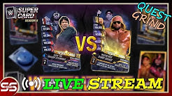 "Steamboat & Macho Man Quest Grind ""LIVE STREAM"" Royal Rumble Tier WWE SuperCard"