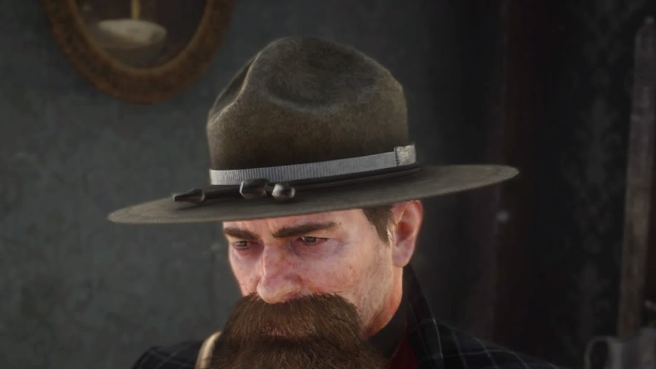 Mountie hat rdr2