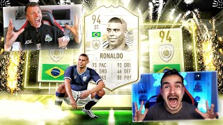 OMFGG!!!! 94 ICON RONALDO IN A PACK !! 😱🔥 FIFA 21