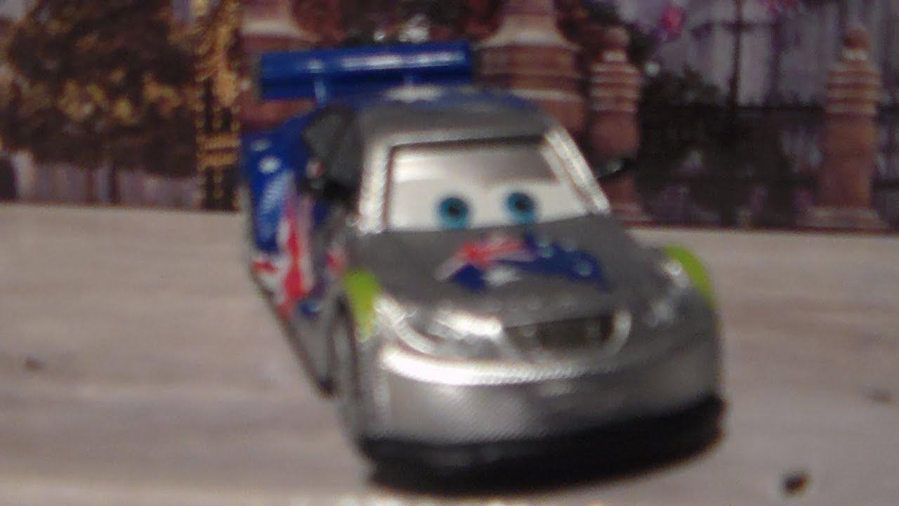 Silver Racers Frosty, 2013 Mattel Disney Pixar Cars 2 Australia Diecast  Unboxing Review!   YouTube