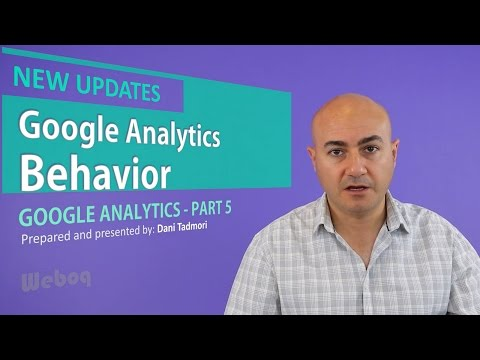 Google Analytics Behavior Reports - GA 5