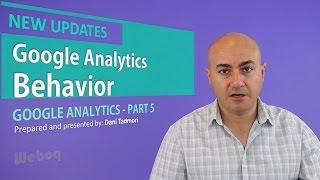 Google Analytics Behavior Reports - GA 5
