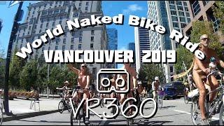 VR360 World Naked Bike Ride (WNBR) Vancouver 2019