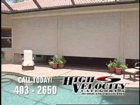 High Velocity Hurricane Shutters | Zef Jam