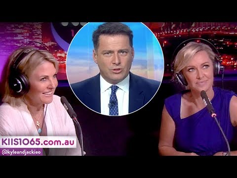 Karl Stefanovic's Message For New 'Today' Hosts Deb Knight & Georgie Gardner   Kyle & Jackie O