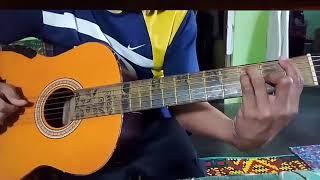 Gambar cover Gitar akustik dangdut menunggu (cover menunggu H.Rhoma irama)