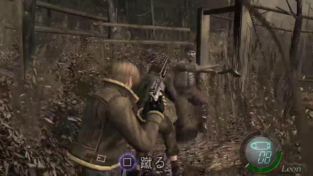 PS4版 バイオハザード4]難易度PR...