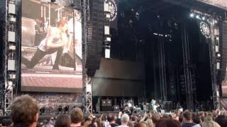 Die Toten Hosen live Heilbronn 14.06.2013 Call of the wild Sohn von Vom und Freundin Meg´n´Jez