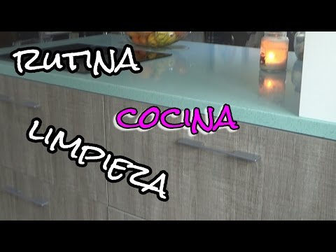 Rutina Limpieza Cocina| Routine cleaning and kitchen room tour | arinuCosmetics