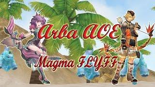 arba gameplay aoe magma flyff