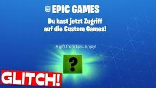 CUSTOM GAMES get through BUG?! | Fortnite Glitch