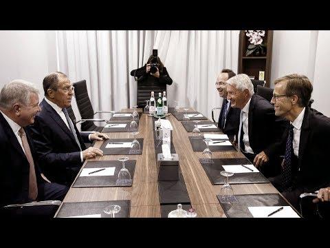 С.Лавров и Генеральный секретарь Совета Европы Т.Ягланд | Sergey Lavrov & Thorbjørn Jagland