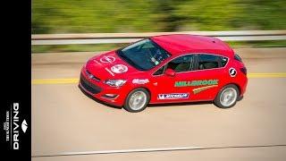 Vauxhall Astra speed endurance challenge