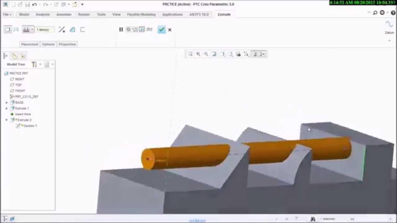 ptc creo 3.0 tutorial pdf