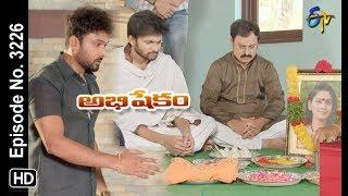 Abhishekam | 18th May 2019 | Full Episode No 3226 | ETV Telugu