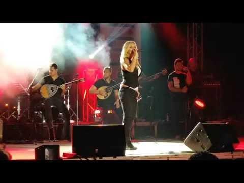 Pegki Zina - Ladadika & Mazi Sou (live Nicosia sept 2016) Μαζί σου - Πέγκυ Ζήνα