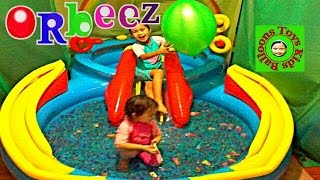 Huge Balloon Orbeez Explosion Super Giant Paddling Pool Orbeez Gallore Kids Balloons and Toys