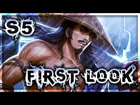 Smite: S5 New Map First Look - Susano Jungle