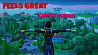 Feels Great a fortnite montage (cheat codes)