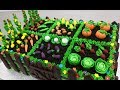 How To Make a VEGETABLE GARDEN CAKE by Cakes StepbyStep