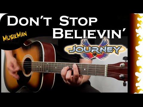 Don't Stop Believin' 🎤 - Journey / MusikMan #103