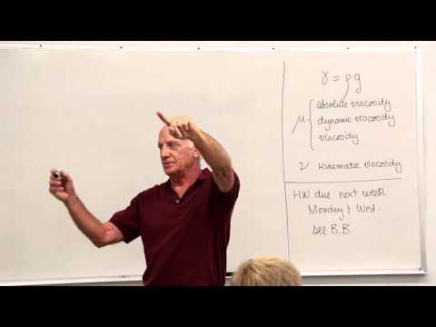 Fluid Mechanics: Pascal's Law, Hydrostatic Pressure Variations, Manometry (2 of 18)