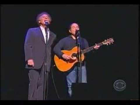 simon and garfunkel on david letterman