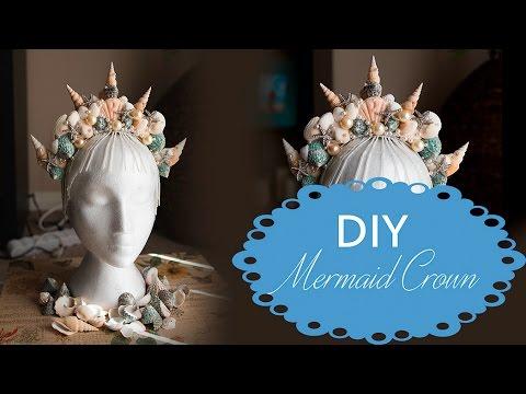DIY Mermaid Crown