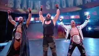 WWE Drew Mcintyre, Braun Strowman & Dolph Ziggler Theme Song 2018 Resimi