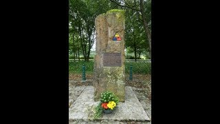 5th Amored Division Monument in Luxembourg~Following the 5th Armored Division Trek Part 8