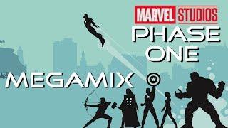 Marvel Cinematic Universe - Phase One (2008-2012) Soundtracks - Megamix