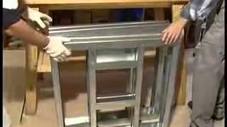 Передача про сборку металлического каркаса из ЛСТК.(, 2013-08-03T16:12:33.000Z)