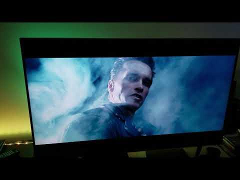 T2 : Judgement Day   HDR & Non HDR Comparison   Apple TV 4K & TCL 55R617
