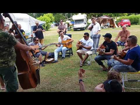 Hermanosguitarras.com @ Samois Sur Seine Django Reinhardt Festival 2018 live gypsy Jazz sinti Music