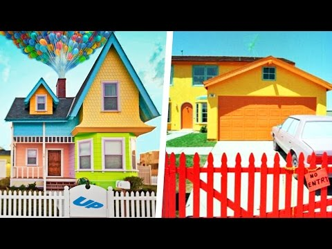 Cartoon Houses Built In Real Life!