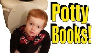 Potty Training - Toddler Bathroom Reading :: Burke Bunch Moments - Episode  2