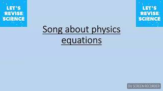 Download lagu Physics equation song
