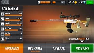 Как взломать игру Sniper 3D на деньги и брилианты Android