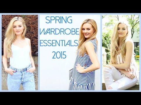 10 Spring Wardrobe Essentials  Niomi Smart