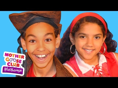 Blow the Man Down | Mother Goose Club Playhouse Kids Video