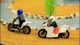 Lego Motocross Race Stop Motion