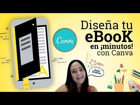 Cómo Hacer Un Ebook En Canva | Libro Digital