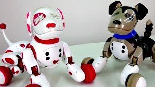 Розвиваючі іграшки: Інтерактивні собачки і Зумер (Zoomer)