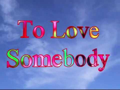 To Love Somebody  THE MIRETTES  Video Steven Bogarat