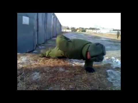 Russia vs USA push ups
